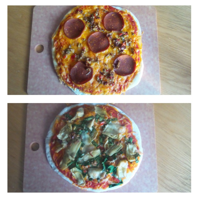 ZAM'S HOMEMADE VEGGIE PIZZA