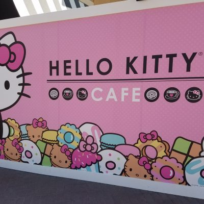 HELLO KITTY CAFE REVIEW BY THE MIXED CHICKS