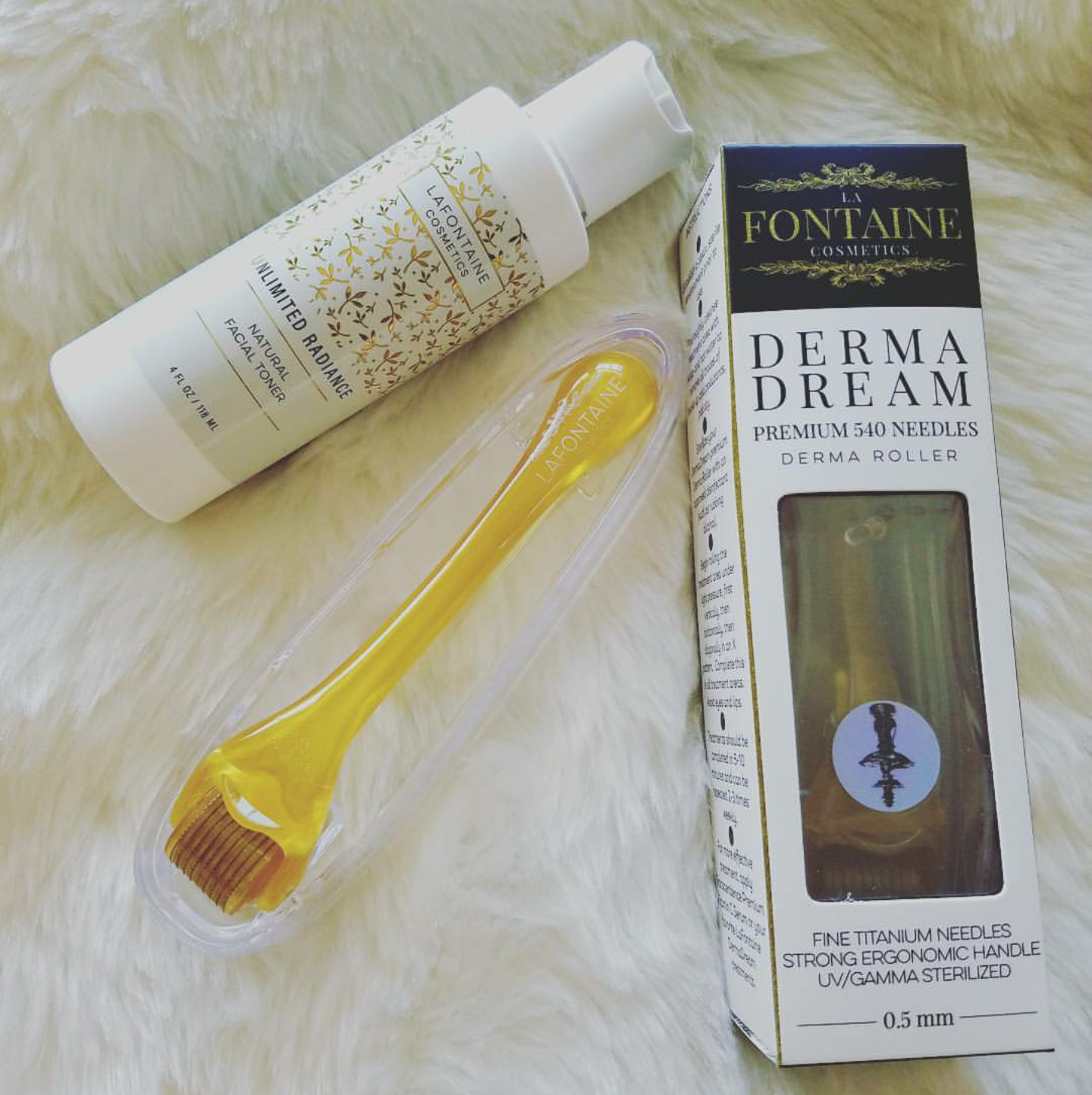 Bluelillypad Blog Archive La Fontaine Cosmetics Derma Roller Zam Glow Skin Water For Toner With Loty Mcclain
