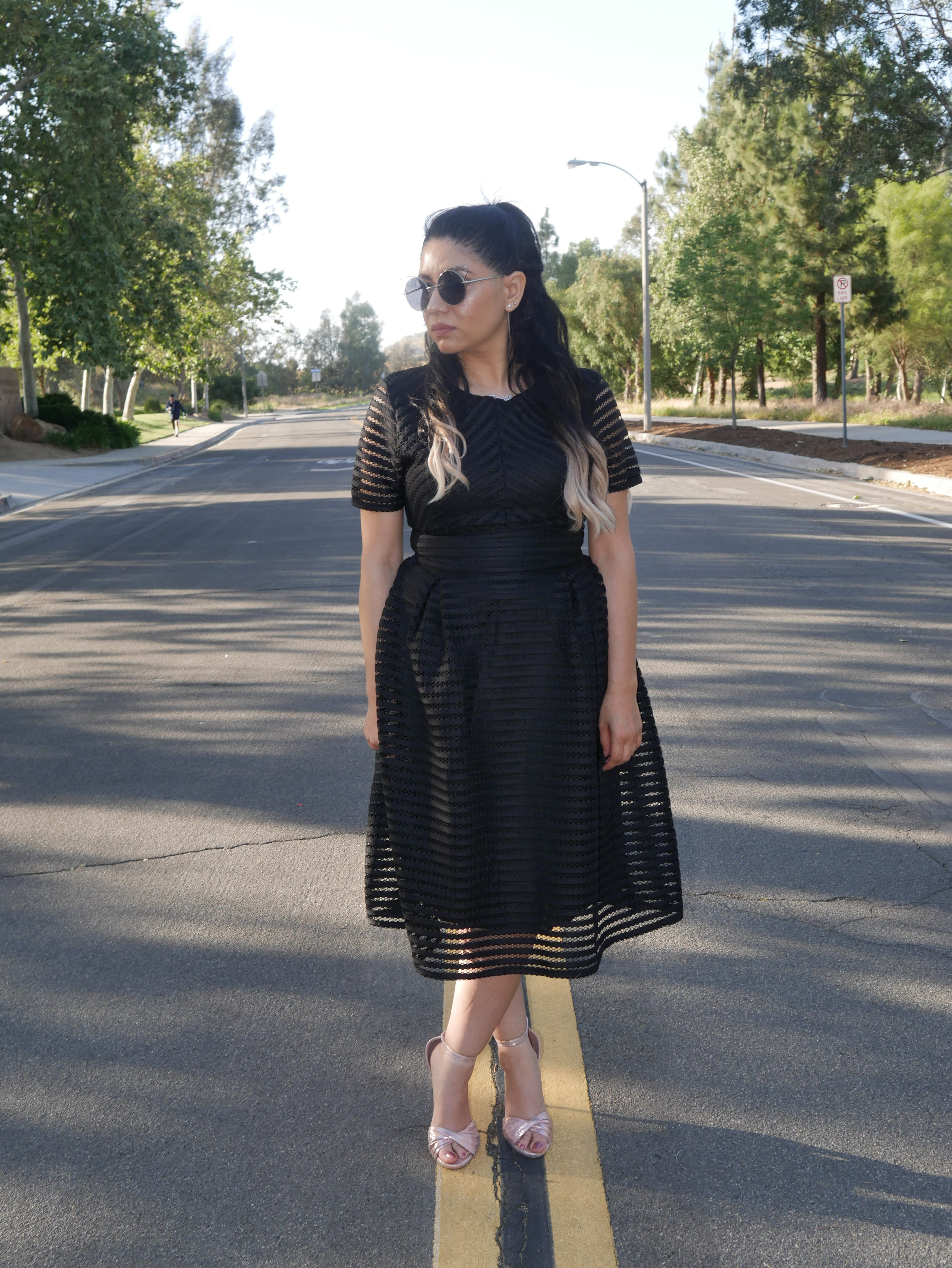205b61fd33 BlueLillyPad » Blog Archive » Little Black Dress with Rose Gold Shoes